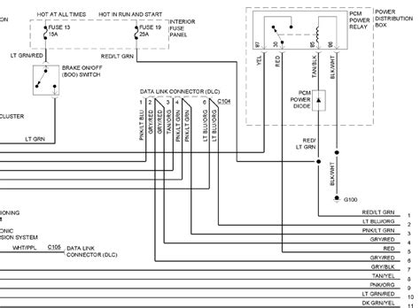2006 ford explorer pcm wiring diagram efcaviation