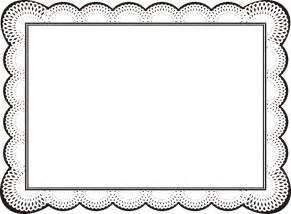 Free Border Templates by Free Border Design Templates Clipart Best