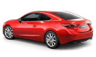 2014 mazda3 rendered as a coupe