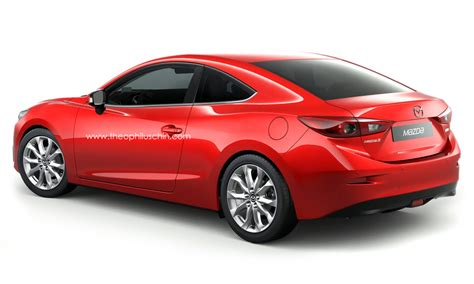 mazda 6 coupe 2014 2014 mazda3 rendered as a coupe