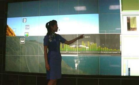 digital wall panasonic digital wall takes on microsoft no multitouch