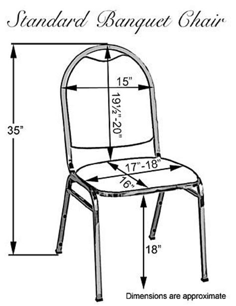Armchair Measurements by Polyester Banquet Chair Cover