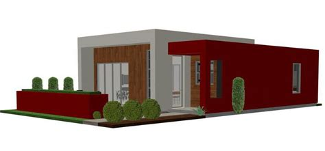 small contemporary house plans contemporary casita plan small modern house plan