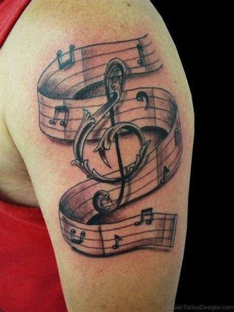 96 best music tattoos