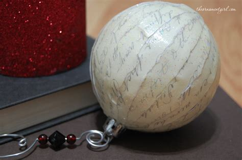 how to decoupage a plastic clear ball with a picture refurbish an ornament with decoupage the ornament