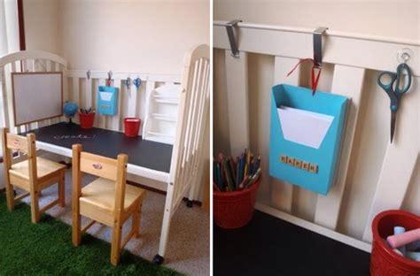 barre letto bimbi come riciclare un lettino da bambini 5 idee fai da te