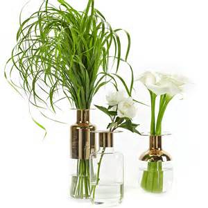 buy serax gold glass vase amara