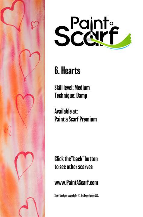 Premium Scarf Aloha premium paint a scarf