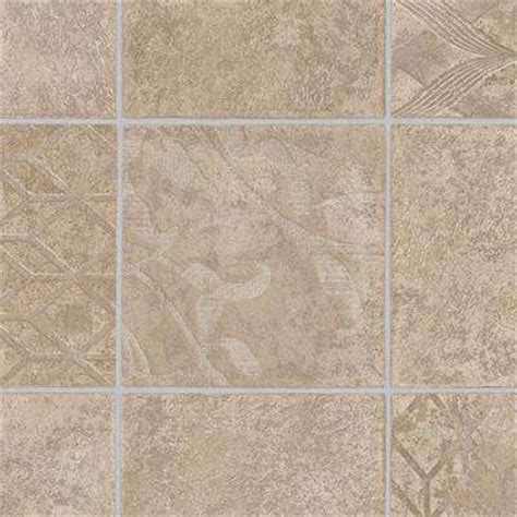 Vinyl Sheet Flooring Home Depot by Beige Bisque Sheet Vinyl Vinyl Flooring Resilient