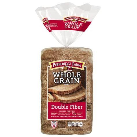whole grains with fiber pepperidge farm whole grain fiber soft 100 whole