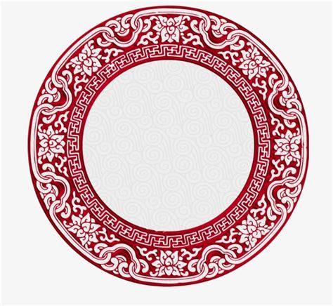 chinese pattern frame china wind pattern frame chinese style pattern red