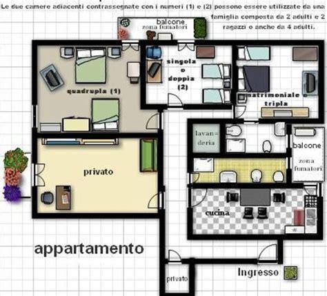 planimetria appartamento planimetria appartamento foto di b b vanvitelli caserta