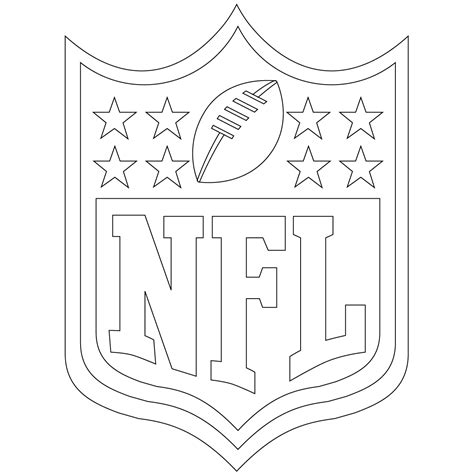 printable coloring pages nfl free printable football coloring pages for kids best