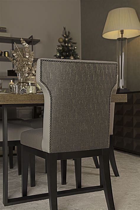 beautifully upholstered dining chairs