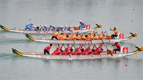 dragon boat korea 2018 unified korea team wins dragon boat race at asian games