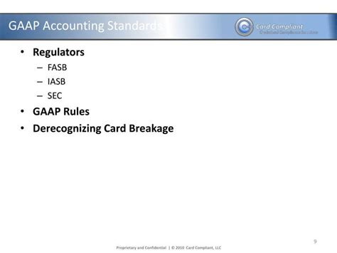 Accounting For Promotional Gift Cards - ppt june 13 2012 compliance overview gift card promotional card and incentive