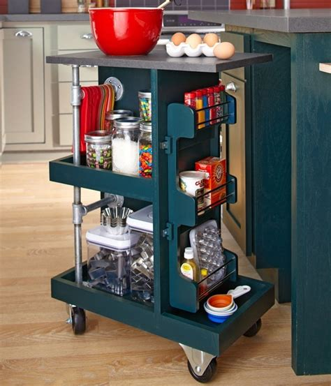diy kitchen cart kitchen storage cart diy for the home pinterest