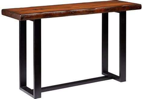 Orchard Grove Mahogany Sofa Table   Sofa Tables Dark Wood