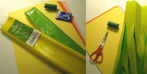como realizar una falda de papel crepe como hacer una falda de papel crepe imagui