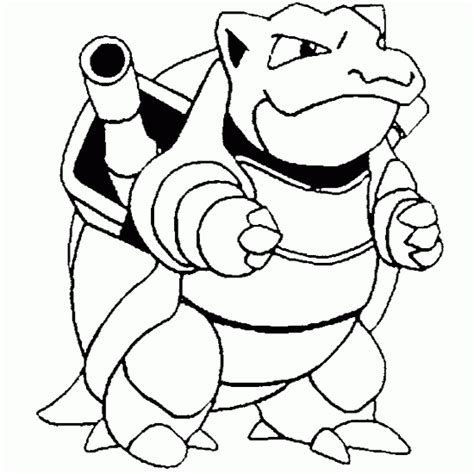 coloring pages pokemon blastoise drawings pokemon pokemon squirtle coloring pages getcoloringpages com