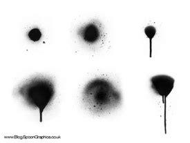 spray paint vs brush 200 free spray paint brushes for photoshop designm ag