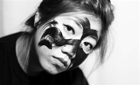 black and white oh the horror black and white masquerade the retro penguin