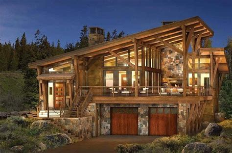 contemporary cabin 25 best ideas about mountain modern on