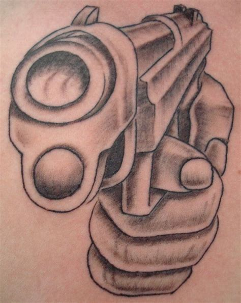 revolver tattoo design gun design tattoobite tatoo