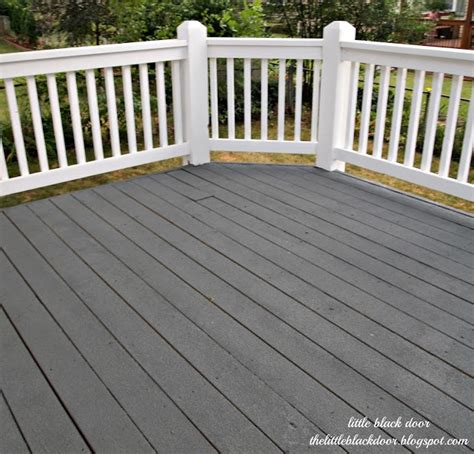 deck restore yard