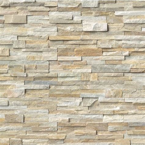 slate tile golden honey ledger panel 6 in x 24 in