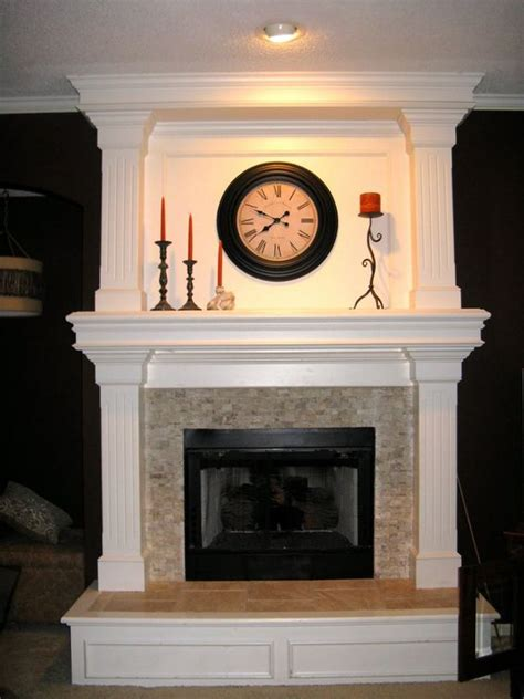 Fireplace Surrounds Fireplaces And Travertine On Pinterest Travertine Fireplace Hearth