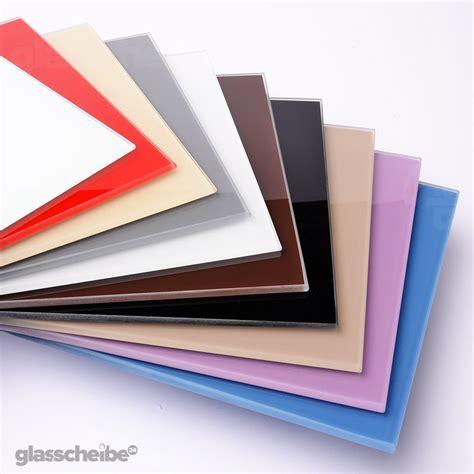 Glasscheibe Lackieren glasscheiben lackiert