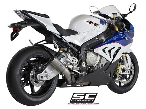 bmw s1000rr 2015 series cr t titanium exhaust by sc project