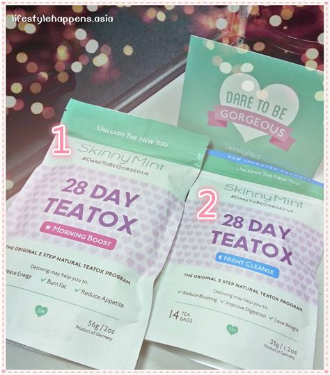 Skinnymint 28 Day Detox by Skinnymint 28 Days Teatox Review Product And Result