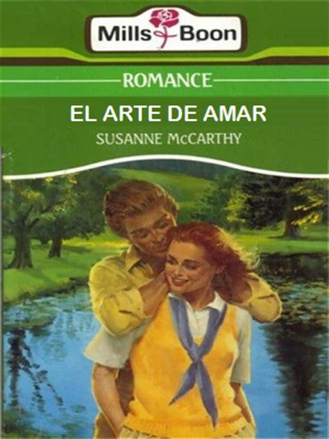 el arte de amar susanne mccarthy el arte de amar novelas romanticas
