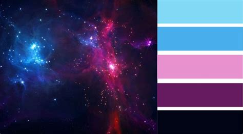 galaxy color palette search sketchbook