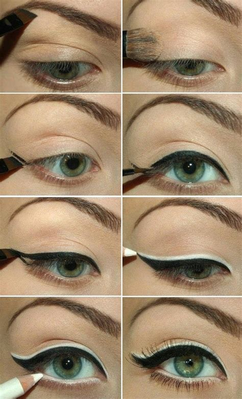 tutorial for top eyeliner top 7 best eyeliner styles shapes to make eyes bigger