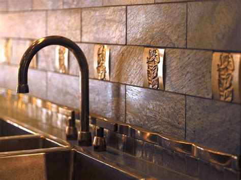 metal kitchen backsplash metal backsplash ideas kitchen ideas design with