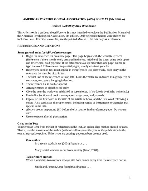 format apa pdf how to write a one page paper in apa format cover letter