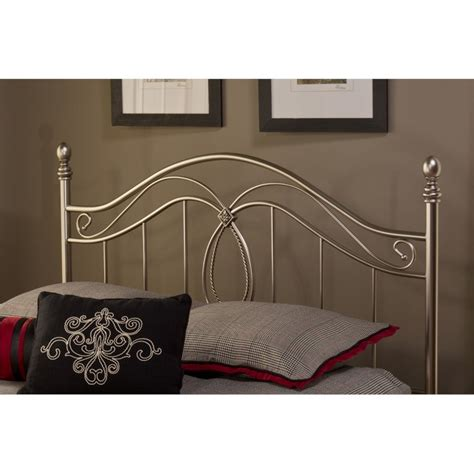 pewter headboard hillsdale milano full queen poster headboard in antique