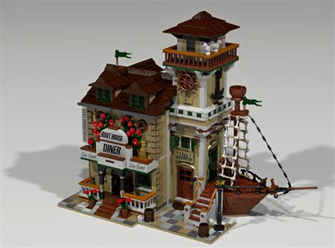 boat house ideas lego ideas boat house diner raggiunge i 10 000