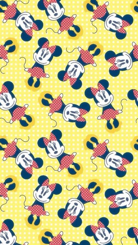 wallpaper design minnie mouse minnie mouse pattern find more cute disney wallpapers
