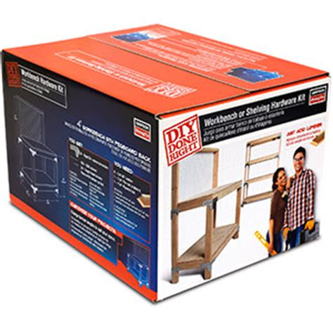 bench hardware kit wbsk workbench and shelving hardware kit