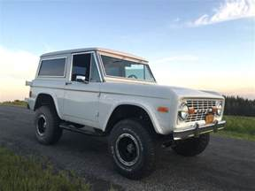 1977 ford bronco v8 bring a trailer