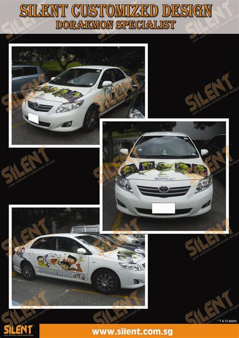 Sticker Ac Doraemon silent customized design doraemon car decal