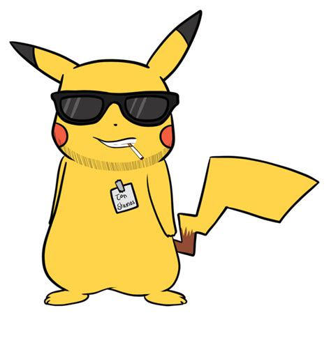 Sprei Dluxe No 1 Pikachu swag mode of pikachu 3 by bananamanisgood on deviantart