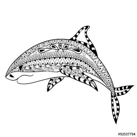 shark mandala coloring pages pinterest the world s catalog of ideas