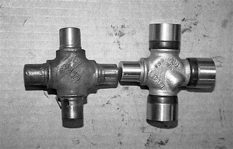 1963 1979 corvette half shaft u joint replacement