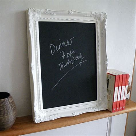 decorative chalkboards for home decorative frame chalkboard for the home pinterest