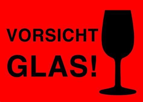 Achtung Zerbrechlich Aufkleber Post by Aufkleber Quot Vorsicht Glas Quot Altnernat Vorsicht Glas